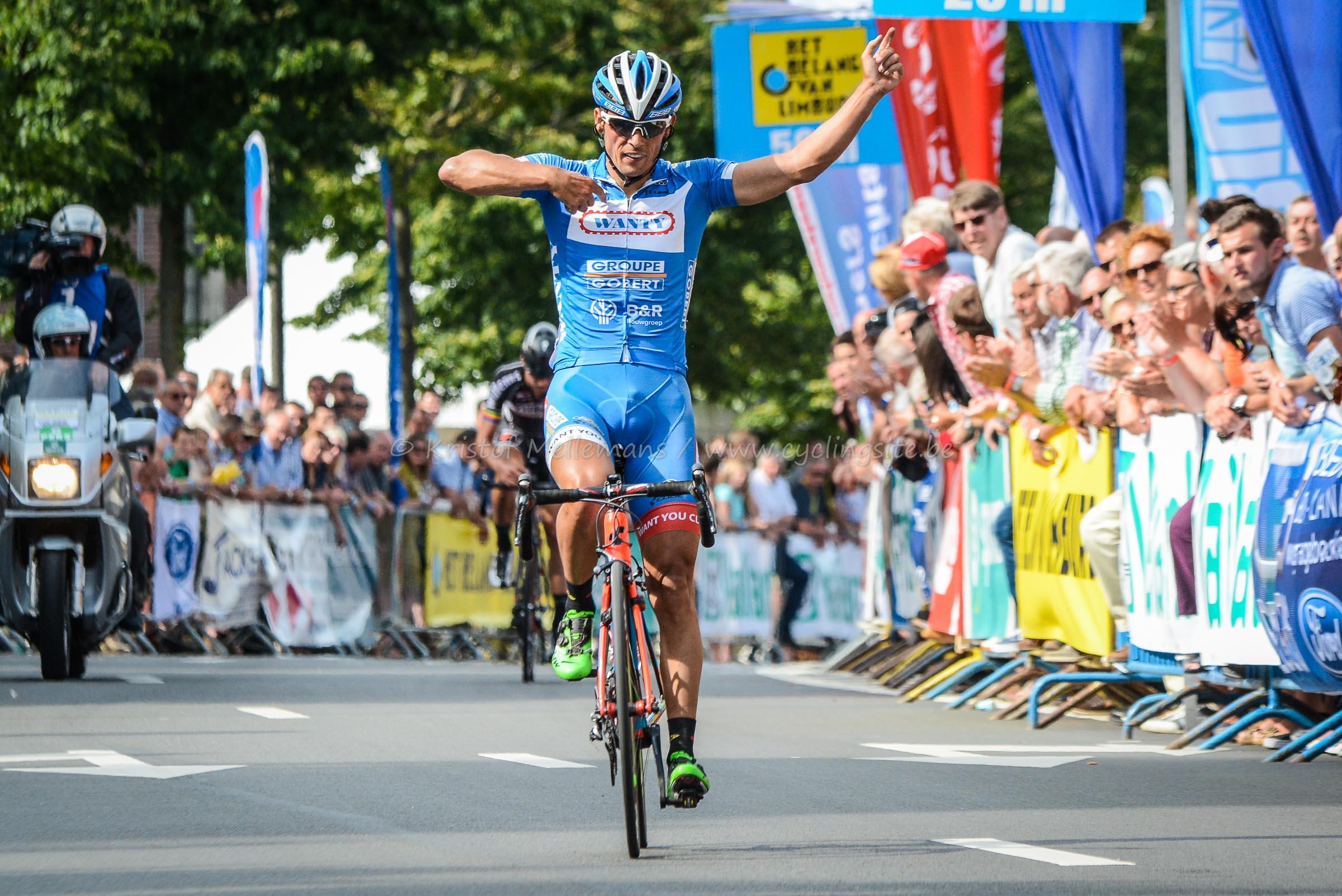 Dovy Keukens Limburg : Björn Leukemans wint de Ronde van Limburg (Foto s
